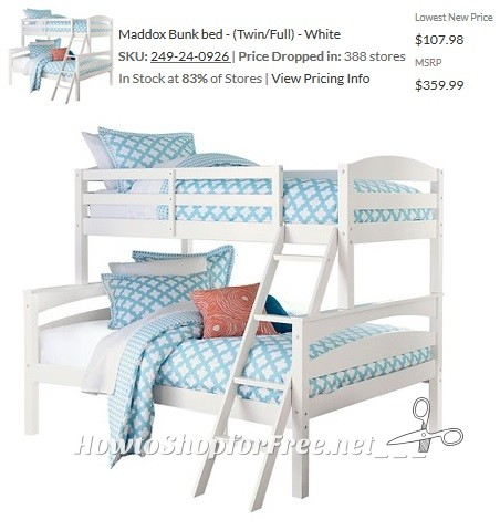 70 OFF Maddox Bunk Bed Check Your Target