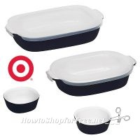 CorningWare Bakeware Set as much as 70% OFF at Target!!!