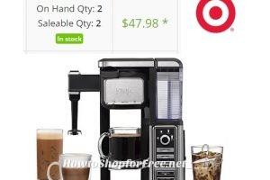 Price Drop~ $48 Ninja Coffee Bar® Single-Serve System +Where to Buy!