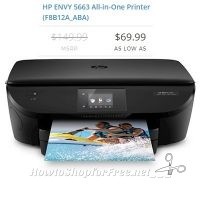 HP ENVY 5663 All-in-One, as much as 53% OFF!!