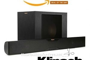 $85 OFF Bluetooth Soundbar w/Wireless Subwoofer ~Today Only!