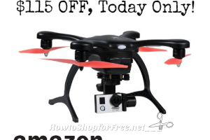 $285 GHOSTDRONE 2.0 Aerial with 4K Sports Camera +FREE Ship! ~Amazon DotD