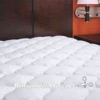Extra Plush Waterproof Mattress Topper 25% OFF ~Deal of the Day