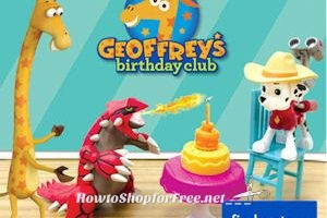 Geoffrey's Next FREE Birthday Celebration Event is March 4th!