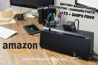 $72.99 Battery Backup & Surge Protector w/ Charging Ports ~Amazon DotD