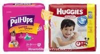 $6.99 Huggies Diapers & Pull Ups at Kmart! (3/19-25) ~Jumbo Pk!
