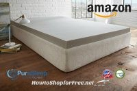 PuraSleep Memory Foam Toppers, as low as $70! ~Amazon DotD