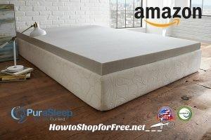 PuraSleep Memory Foam Toppers, as low as $70! ~Amazon DotD