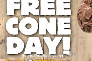 April 4th: Ben & Jerry's FREE Cone Day ~ Mark Your Calendar!