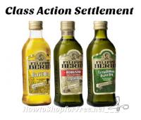 Filippo Berio Olive Oil — Class Action Settlement