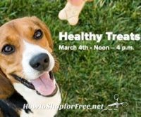 FREE PetSmart Healthy Treats Event, Every Sat. in March-April!