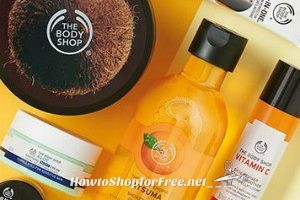 The Body Shop ~ Up to 75% off + FREE Shipping, items as low as $1!