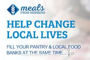 "Donate 12 Free Meals with Sam's Club ""Meals from Members"""