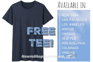 Free AIRism Tee at UNIQLO Stores ~Mobile Required