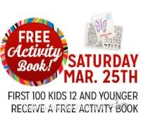 3/25: Kmart Freebie Saturday ~FREE Activity Book!