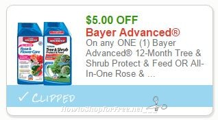 5 00 Off Any One Bayer Advanced Tree Shrub Product How To Shop For Free With Kathy Spencer