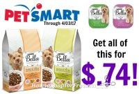 UPDATED with Printable coupons! – HOT DEAL!! Two FREE bags of dry dog food & 8 trays of wet food at Petsmart! Just pay for small filler. Now through 4/02/17