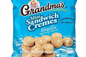**Amazon Deal** WOW! Grab these Grandma's Mini Cookies, Vanilla Crème (Pack of 60) – Just $.30 each!