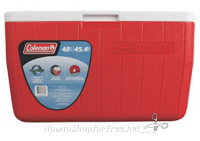**Amazon Deal** Coleman 48 Quart Performance Cooler Holds 63 Cans, Red for $19.99 (reg. $30.23)