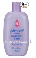 **Amazon Deal** Johnson's Baby Bedtime Bath, 9 Fluid Ounce (Pack of 6) as low as $1.73 bottle!