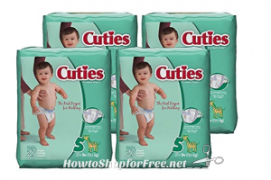 **Amazon Deal** Run! These will set out fast! Cuties baby Diapers, Size 5, 27-Count, Pack of 4 as low as $.07 per diaper!