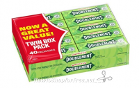 **Amazon Deal** Wrigley's Doublemint Chewing Gum, 5-Piece Pack (40 Packs) Only $.15 a pack!