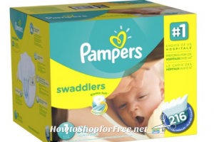 **Amazon Deal** It's Back! Pampers Swaddlers, Only $.09 per Diaper!