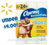 Charmin Essentials 12ct. UNDER $4 at Walmart!