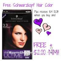 Free Schwarzkopf HairColor at CVS 03/12-03/18!!