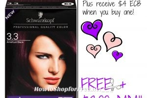 Free Schwarzkopf HairColor at CVS 03/12-03/18!!