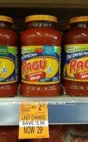 RUNN!!!! FREE + MM Ragu Pasta sauce at Walgreen's Through 3/12/17