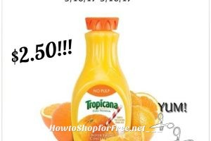 Hot Deal!! Tropicana Pure Premium orange juice only $2.50 at Stop & Shop! *New*