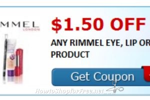 *****Hot New Printable***** $1.50/1 Rimmel Londen Eye, lip or face Product