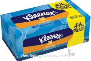 Wow Kleenex Tissues As low as $.73 at Stop & Shop(3/31/17-4/6/17)