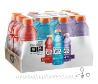 **Amazon Deal** Gatorade G2 Thirst Quencher Variety Pack, 20 Ounce Bottles (Pack of 12) Only $8.20!