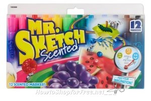 **Amazon Deal** Hot Buy! As low as $3.83, Mr. Sketch Scented Markers, Chisel Tip, Assorted Colors, 12-Count