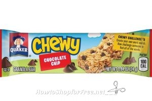 **Amazon Deal** Quaker Chewy Granola Bars 58-Count Box Only $8.99