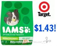 RUN!! IAMS Dry Dog Food only $1.43 at Target!