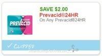 **NEW Printable Coupon** $2.00 off one Prevacid24hr