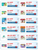 Print Print Print!! A little birdie told me you'll need these coupons next week for a HOT Target Sale!