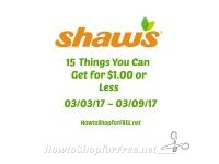 15 Things You Can Get for $1.00 or Less at Shaw's 03/03 ~ 03/09!