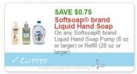 **HOT**NEW Printable Coupon** $0.75 off one Softsoap brand Liquid Hand Soap
