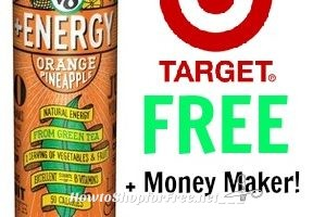 RUN! V8+Energy Drink FREE + Money Maker at Target!