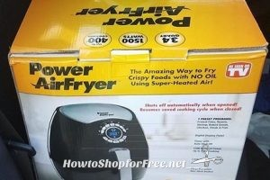 Power AirFryer 3.4 as low as $20!! ~HOT #Clearance