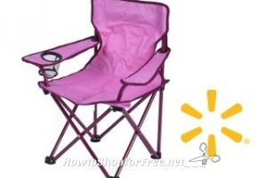 $1.00 Ozark Trail Kid's Chair (Pink) RUN ~15 in N. Dartmouth!!