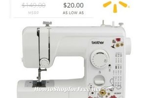 Brother 17 Stitch Sewing Machine ~as low as $20!