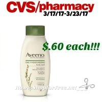 Wow! Aveeno Daily Lotion only .60¢ at CVS