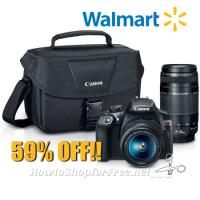 $249 Canon EOS Rebel T6 Digital Camera ~SAVE $351!