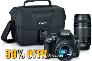 $249 Canon EOS Rebel T6 Digital Camera ~SAVE $351!