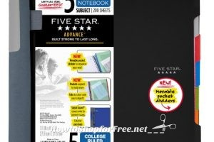Five Star Notebooks as low as .02!!